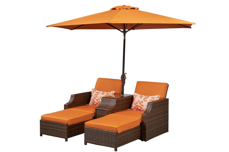 Outdoor Futon Sofa Bed Lounger Santorini